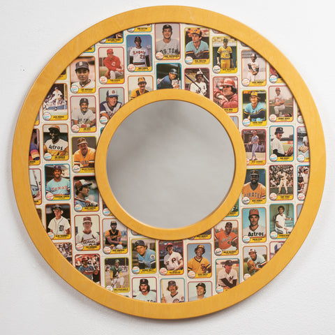1981 Fleer Baseball Cards • Mirror Frame