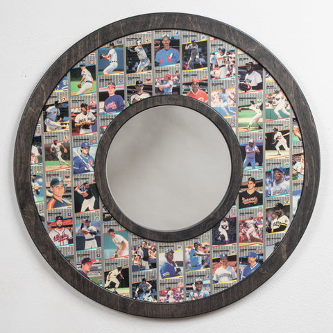 1989 Fleer Baseball Cards • Mirror Frame