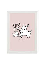Load image into Gallery viewer, Grá (love) in pink