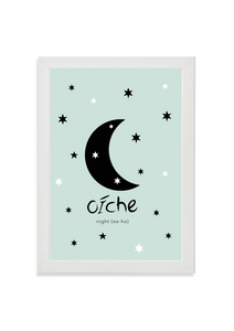 Oiche (night) in green