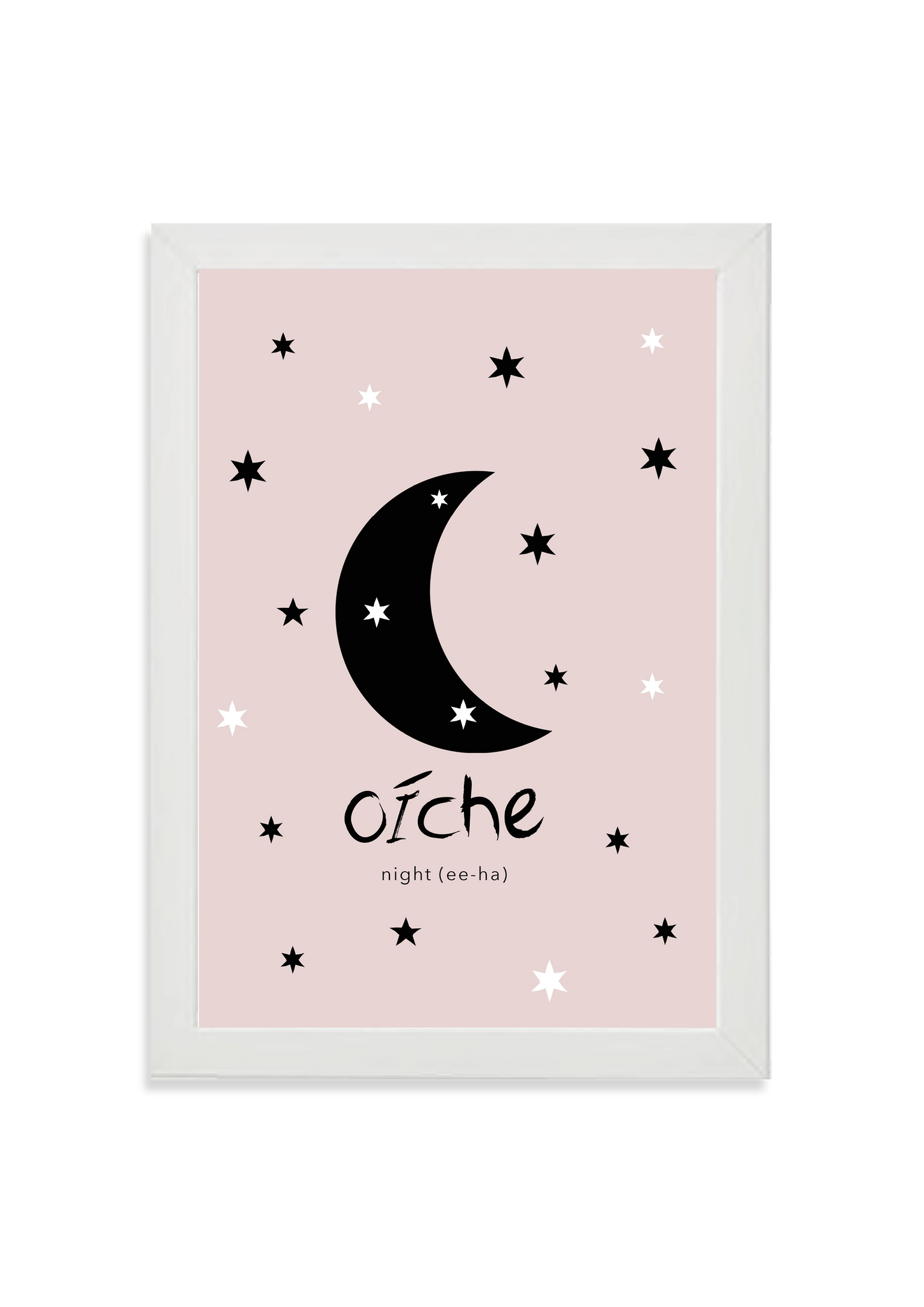 Oíche (night) in pink