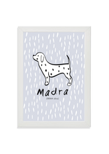 Load image into Gallery viewer, Madra (Dog) (blue)