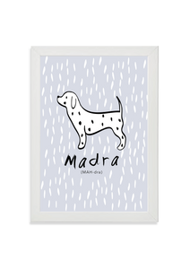 Madra (Dog) (blue)