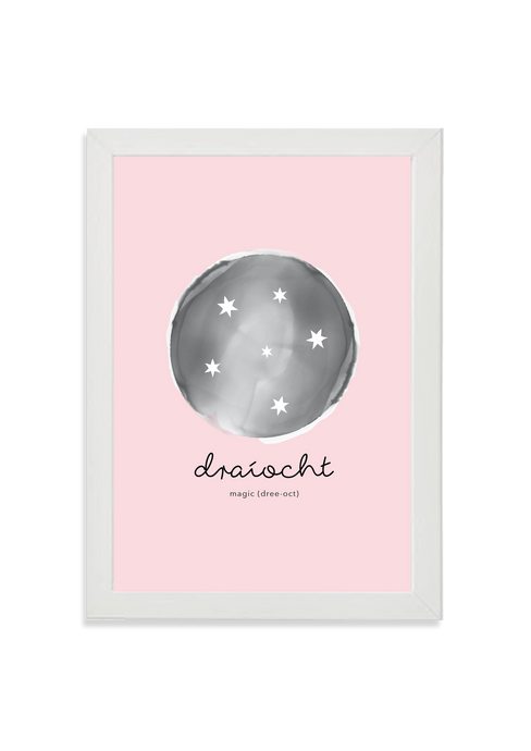 Draíocht (magic) pink