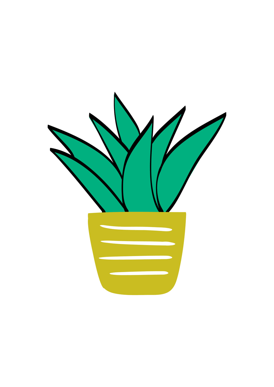 Plant (green & yellow)