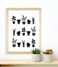Load image into Gallery viewer, Plants (monochrome)