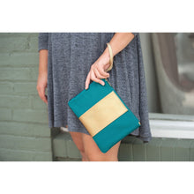 Load image into Gallery viewer, Teal Cabana Wristlet l A&B's Boutique