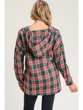 Load image into Gallery viewer, Plaid Pullover l A&B's Boutique