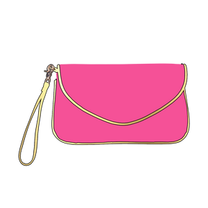 Hot Pink Callie Purse l A&B's Boutique