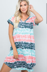 Out For The Day Pocket Dress l A&B's Boutique