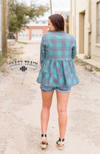 Load image into Gallery viewer, Plaid Top l A&B's Boutique
