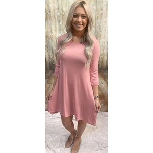Sweetheart Pink Dress l A&B's Boutique
