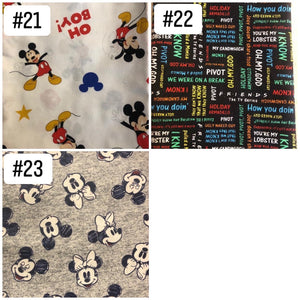 Handmade Disney Face Masks l A&B's Boutique