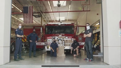 Electric and Rulk team up to support Firefighters