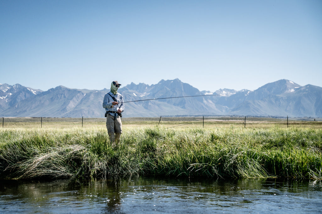 Tom Lippen fly fishing