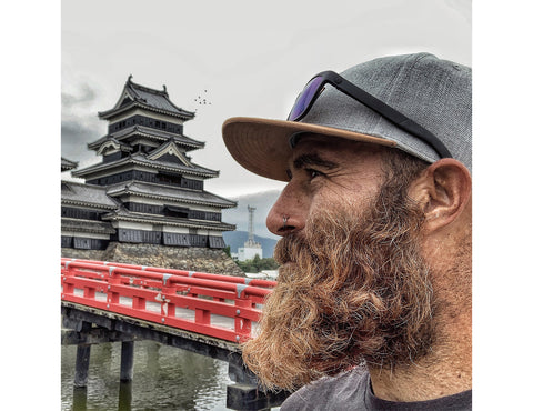 Tommy Rivs in Japan