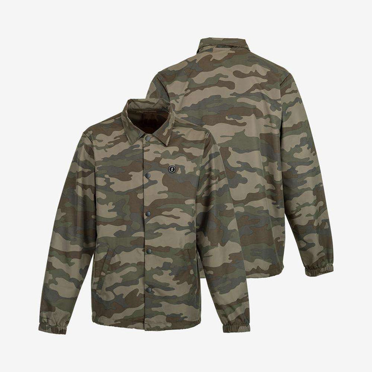 Electric Icon Patch Coach Jacket Clothing Camo S