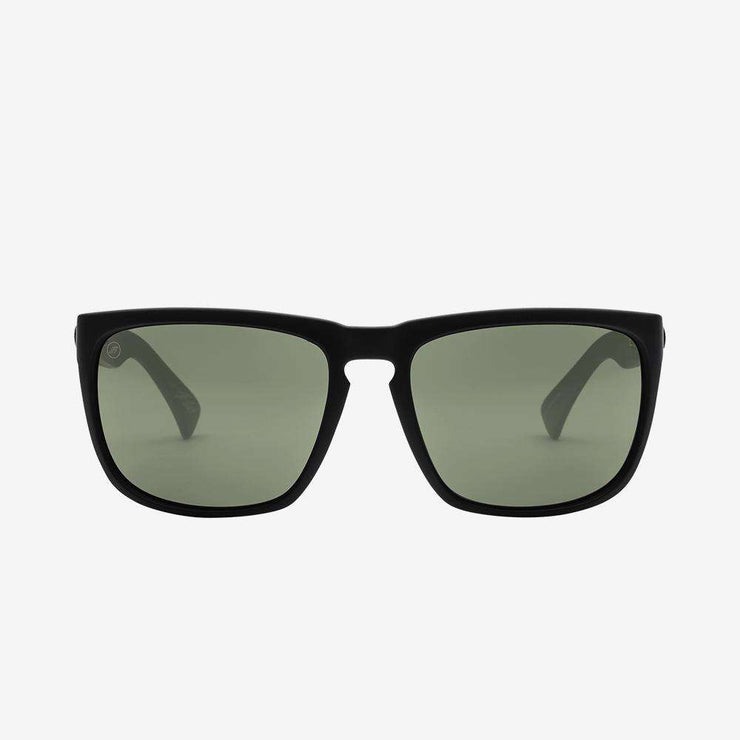 Electric California Mens Dude Sunglasses Matte Black//Polarized Grey
