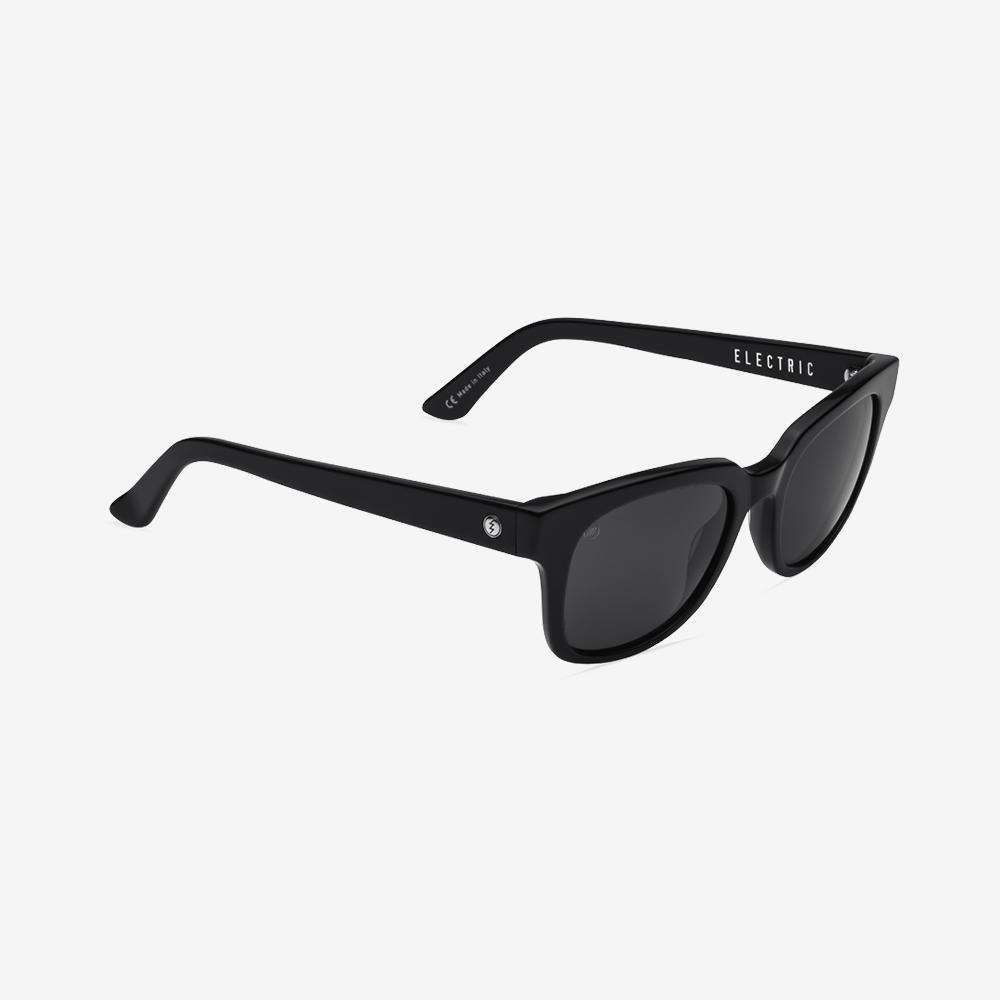 Electric 40 five Men and Women's Sunglass  - Grey Polarized / Gloss Black