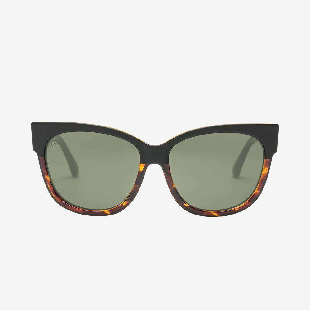 Electric Danger Cat Women Sunglass  - Darkside Tort / Grey Polarized
