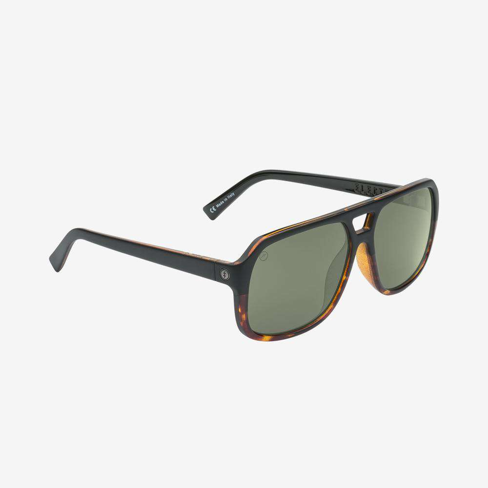 Electric Dude Men and Women's Sunglass - Darkside Tort / Grey Polarized