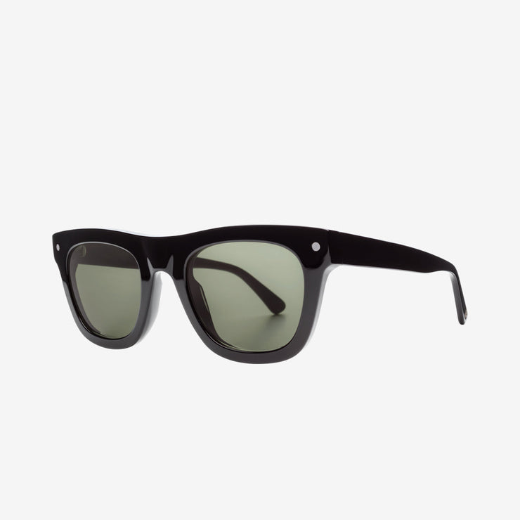 Electric Cocktail Men and Women Sunglass - Gloss Black / Grey Polarized