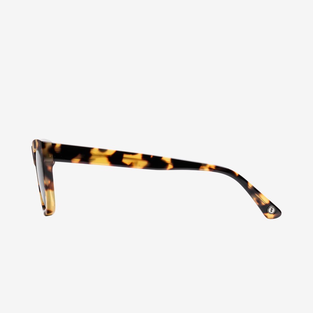Electric Cocktail Men and Women Sunglass - Gloss Spotted Tort / Grey Polarized