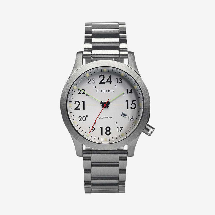 FW01 Stainless Steel Field Watch