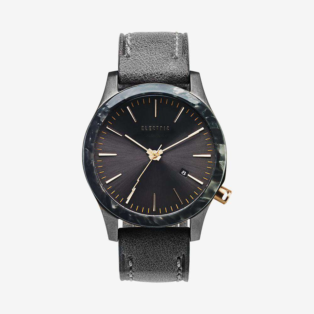 FW03 Leather Field Watch