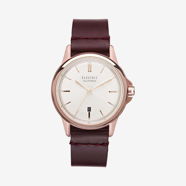 Carroway Leather Watch