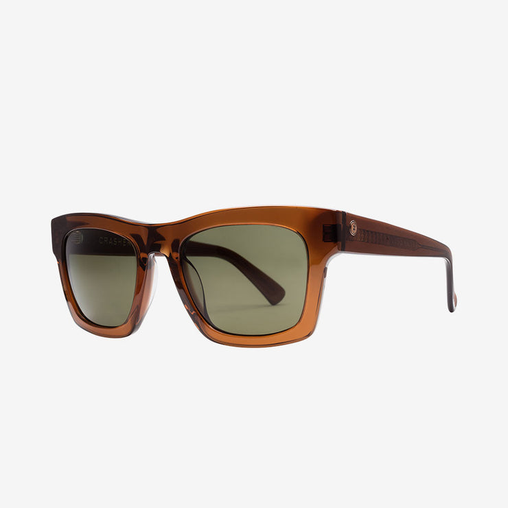Electric Crasher Men and Women's Sunglass  - Coffee / Medium  - 49mm / Grey Polarized