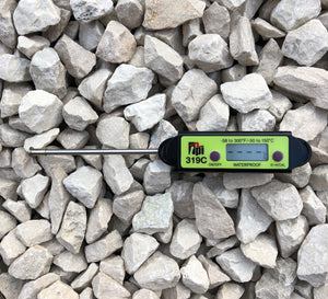 Compact Digital Rail Thermometer
