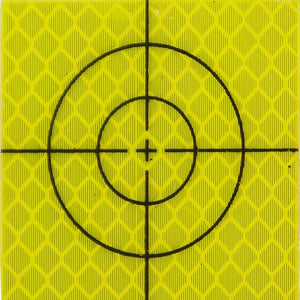 30mm Retro Reflective Target - Yellow