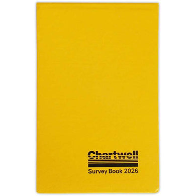 Chartwell Survey Book 2026 - 130 x 205mm