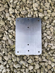 Flat Aluminium Backing Plate