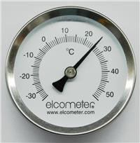 -30 to 55 Degrees Celsius Magnetic-backed Thermometer