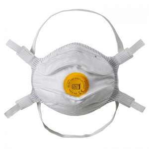Supertouch P16 FFP3 Moulded Valved Face Mask - pack of 10 masks.