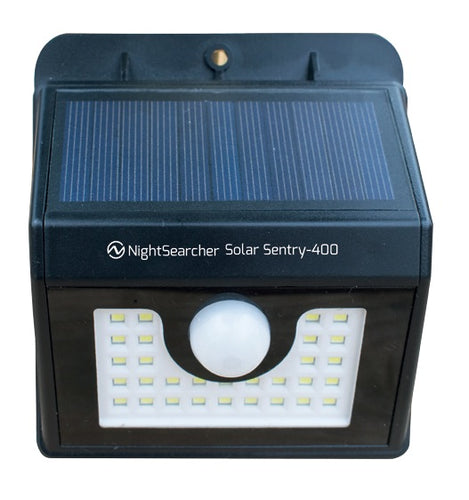 NightSearcher® Solar Sentry 400 Solar Sensor Wall Light
