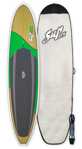 "SUP ATX Paddleboard PKG Model: Journey Plus Length: 11'6"" Green"