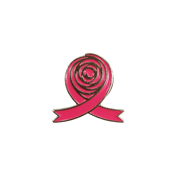 Breast Cancer Foundation Pink Ribbon Pin