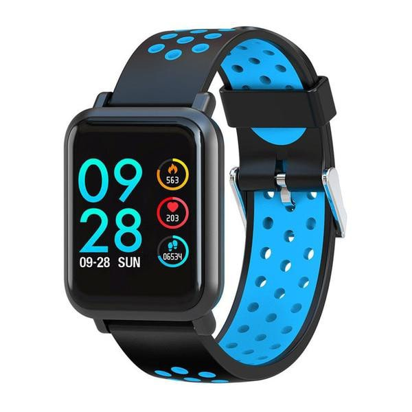 2019 Smartwatch for Android and iOS with Classic Blue Sport Band
