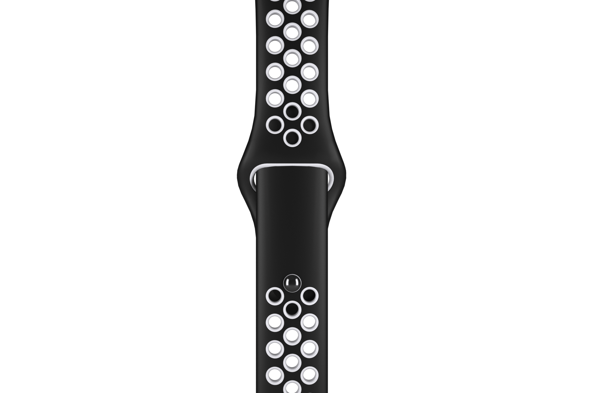 Black/White Sport Band for 2019 Smartwatch