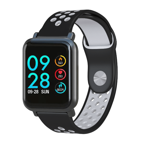 Black/White Sport Band