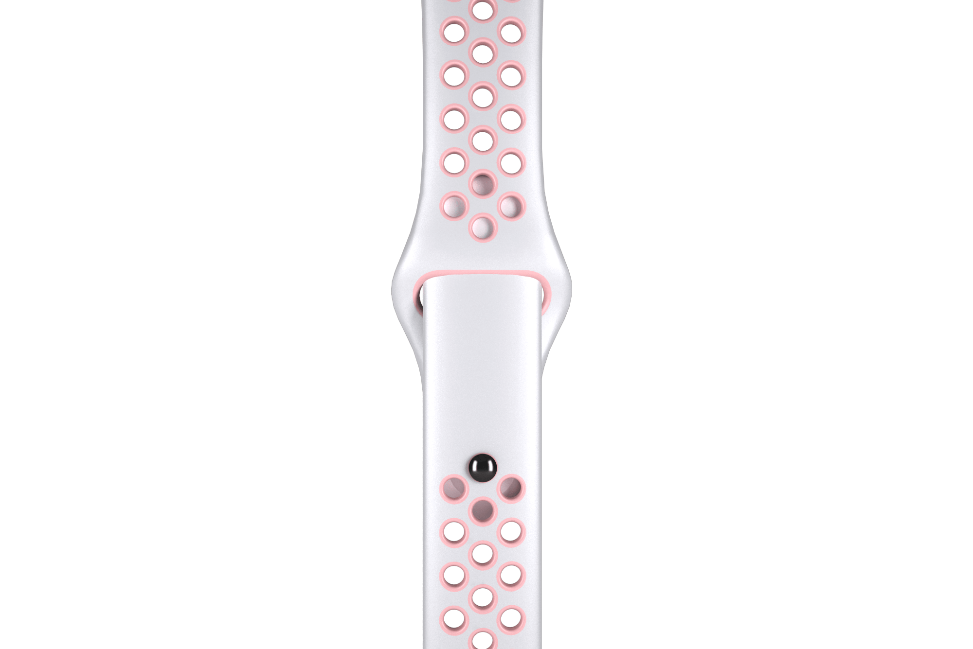 White/Pink Sport Band