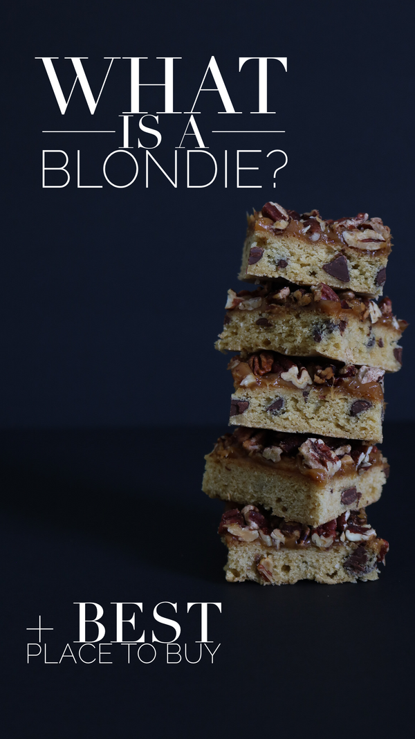 What are blondies?