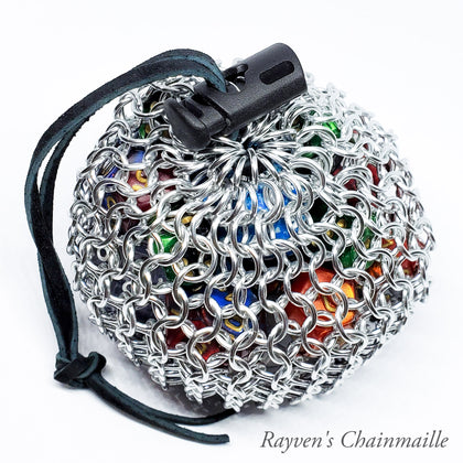 Rayven's Chainmaille| Dice bags and purses collection