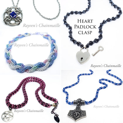 Rayven's Chainmaille| Necklace Collection
