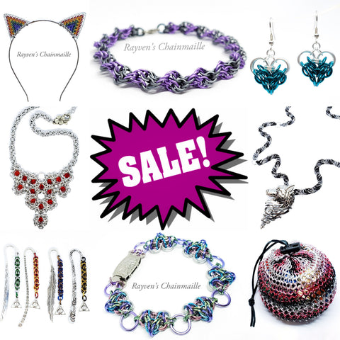 Rayven's Chainmaille| Sale and Clearance Collection