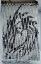 Load image into Gallery viewer, Rayven's Chainmaille| Dragon Chainmail Inlay