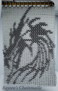 Rayven's Chainmaille| Dragon Chainmail Inlay